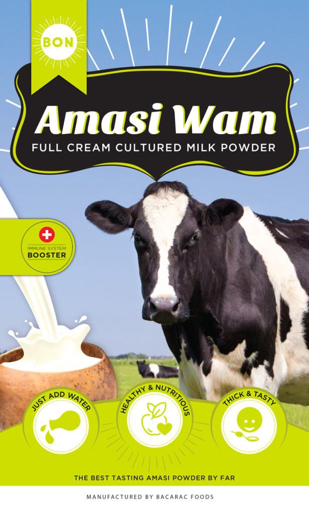 Amasi Wam Full Cream Cultured Milk Powder
