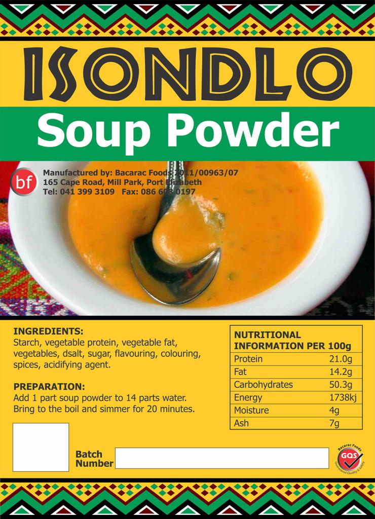 Isondlo Soup Powder