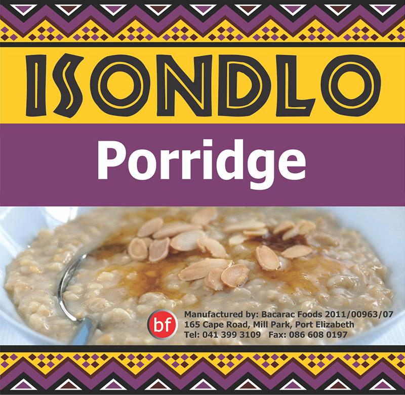 Isondlo Porridge